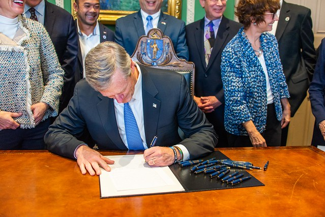 Governor Baker Signs Bill to Promote Civic Education for Students 11.08.2018