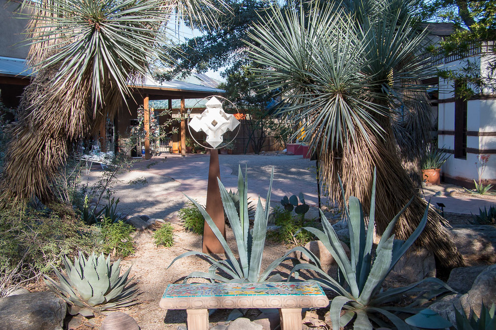 Aloe Alley at Tucson Botanical Gardens