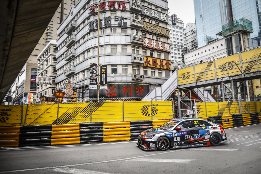 21 PANIS Aurelien, (fra), Audi RS3 LMS TCR team Comtoyou Racing, action during the 2018 FIA WTCR World Touring Car cup of Macau, Circuito da Guia, from november  15 to 18 - Photo Francois Flamand / DPPI