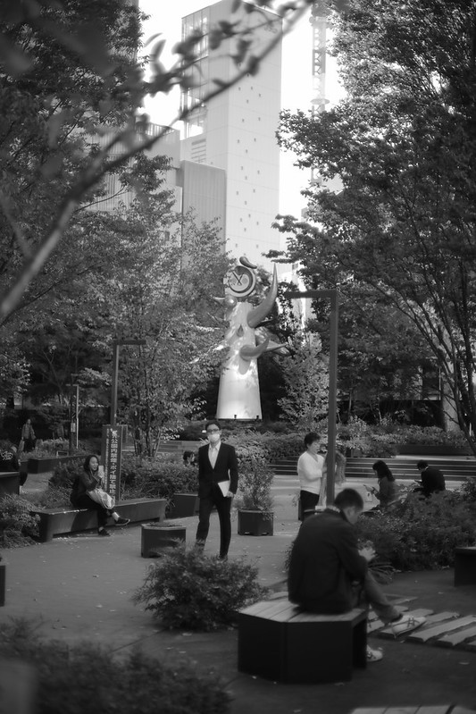 Young Clock Tower(1966)/Taro Okamoto