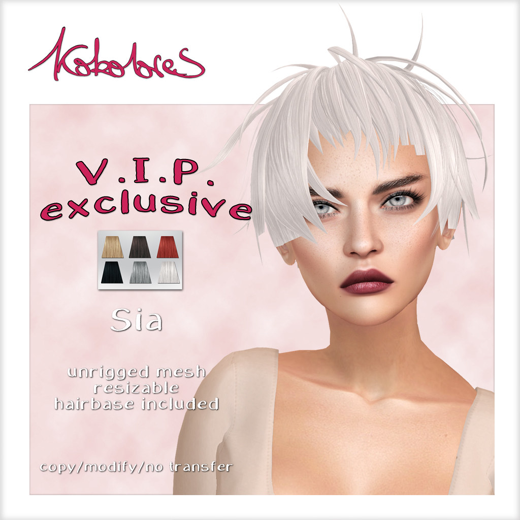 New VIP gift! [KoKoLoReS] Hair – Sia