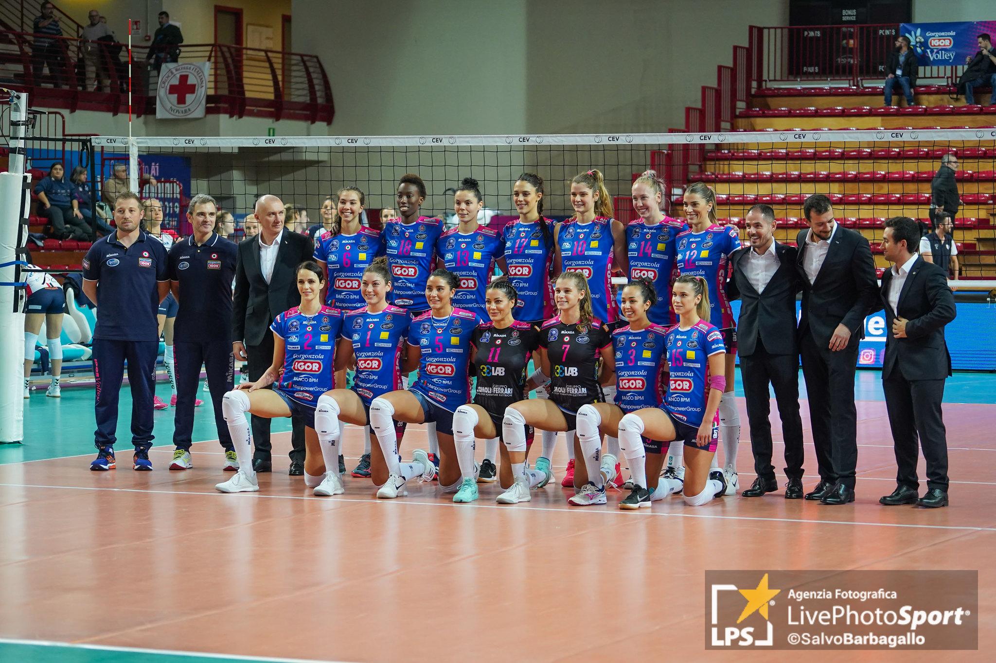 Igor Gorgonzola Novara vs Budowlani Lodz