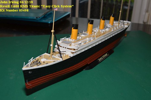revell 1 600 rms titanic easy click system 05498. Black Bedroom Furniture Sets. Home Design Ideas