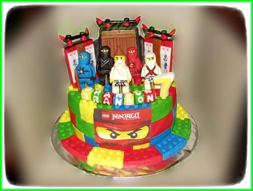 Cake Ninjago BRANDON 15 cm
