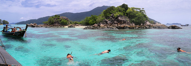 Exploring the incredible marine life around tiny island Koh Kra