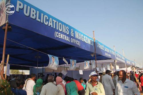 Publication Stall during 71st Annual Nirankari Sant Samagam