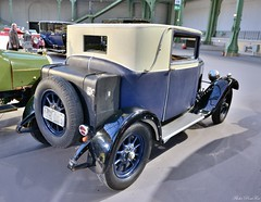 1926 Imperia Type 8-25 SS 8 HP berline toilée