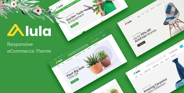 Alula – Multipurpose OpenCart Theme (Included Color Swatches)