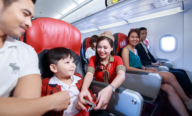 Enjoy flying with Vietjet