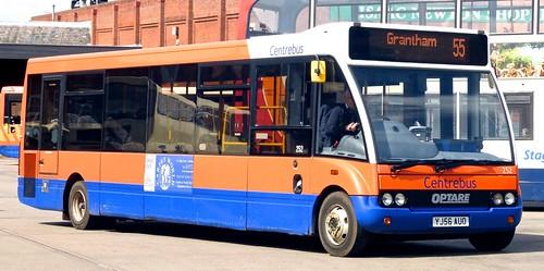 YJ56 AUO 'Centrebus' No. 530. Optare Solo M990. on Dennis Basford's railsroadsrunways.blogspot.co.uk'