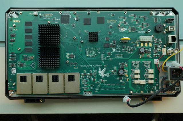 Rigol MSO5000 Oscilloscope Teardown