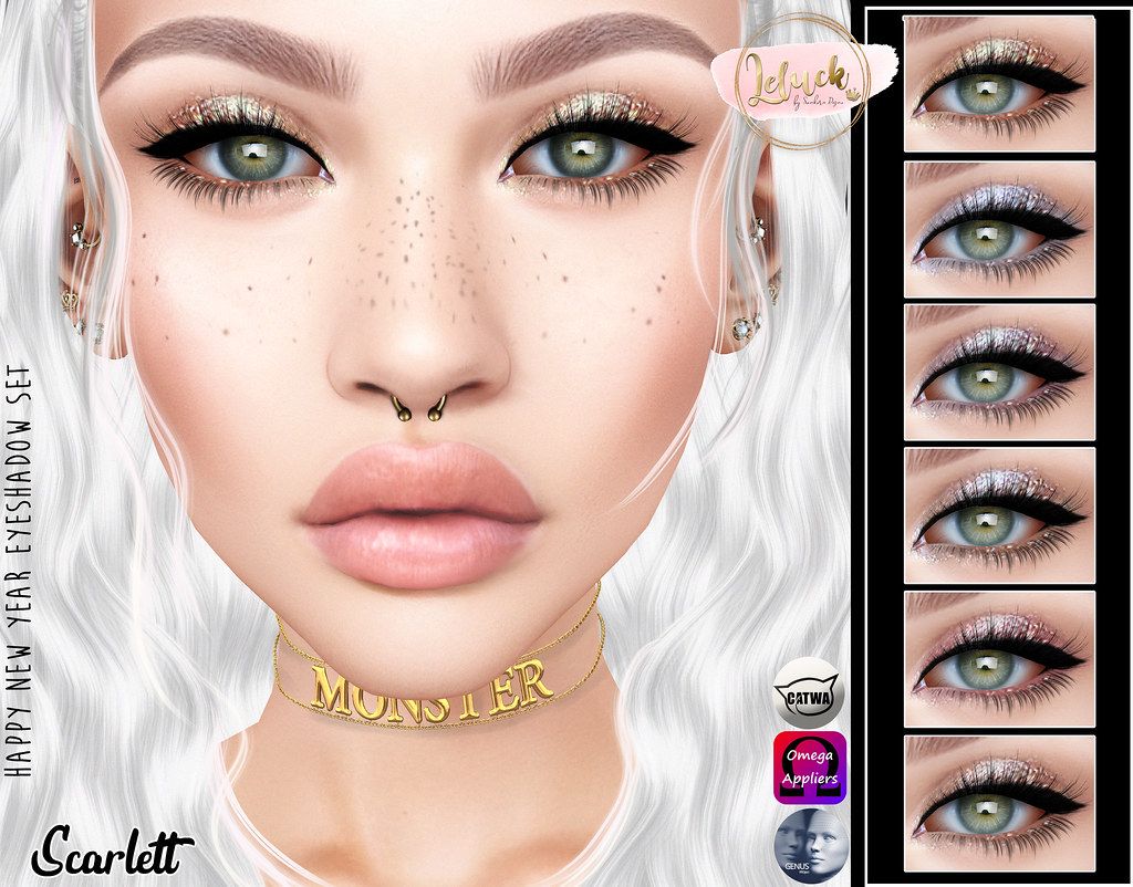 [LeLuck]Happy_New_Year Eyeshadowset Scarlett - TeleportHub.com Live!