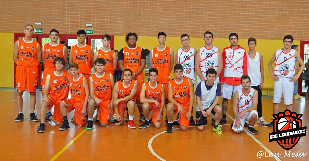 11/11/2018.- Junior Naranja Masculino vs Basket Club Boadilla