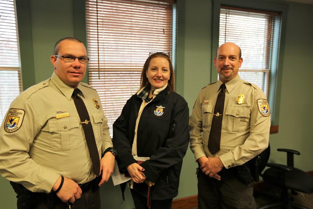 Refuge Law Enforcement With Principal Deputy Director Marg