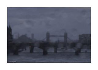 From Blackfriars Bridge London ©