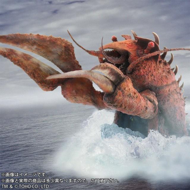 東寶30公分系列《哥吉拉·伊比拉·魔斯拉 南海大決鬥》龍蝦怪獸「伊比拉」!東宝30㎝シリーズ エビラ 「少年リック限定」