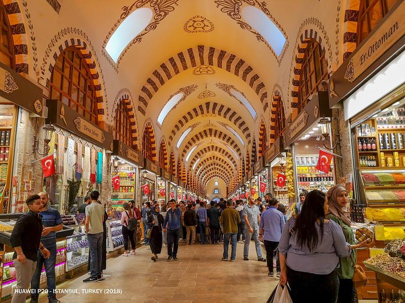2018 Turkey Istanbul Spice Bazaar 1