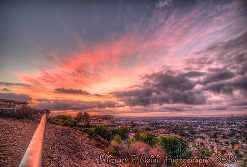 signalhill signalhillca california southerncalifornia sky sunrise pink colorful