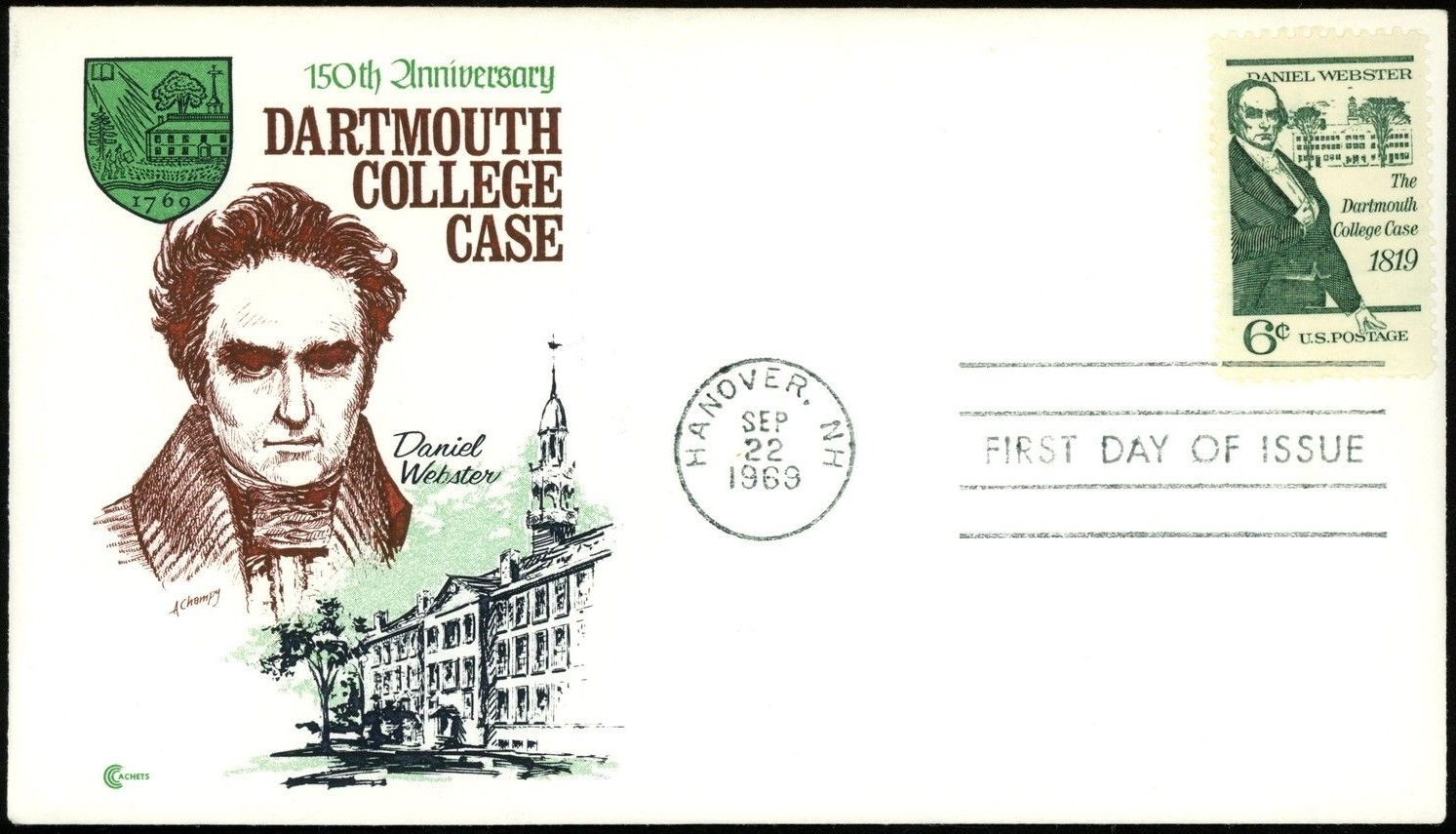United States - Scott #1380 (1969) first day cover