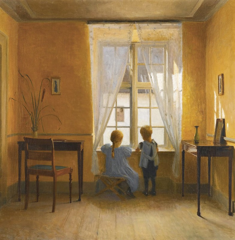 Peter Vilhelm Ilsted - At the Window