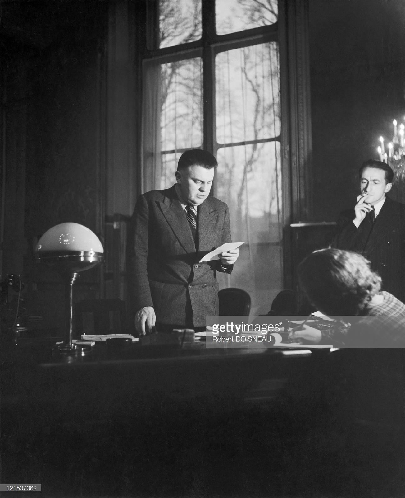 1946. Марсель Поль, министр коммунист