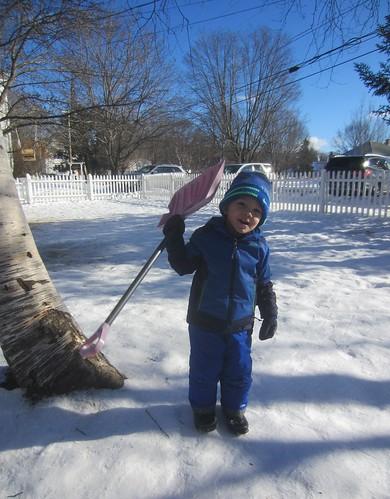 I have a shovel