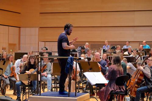 Norrköpings Symfoniorkester med Dirigent Christian Kluxen, Solist Laura Snowden och kompositör Lisa Streich