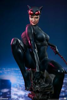活躍於高譚的性感女小偷!! Sideshow Collectibles Premium Format Figure 系列 DC Comics【貓女】Catwoman 1/4 比例全身雕像作品