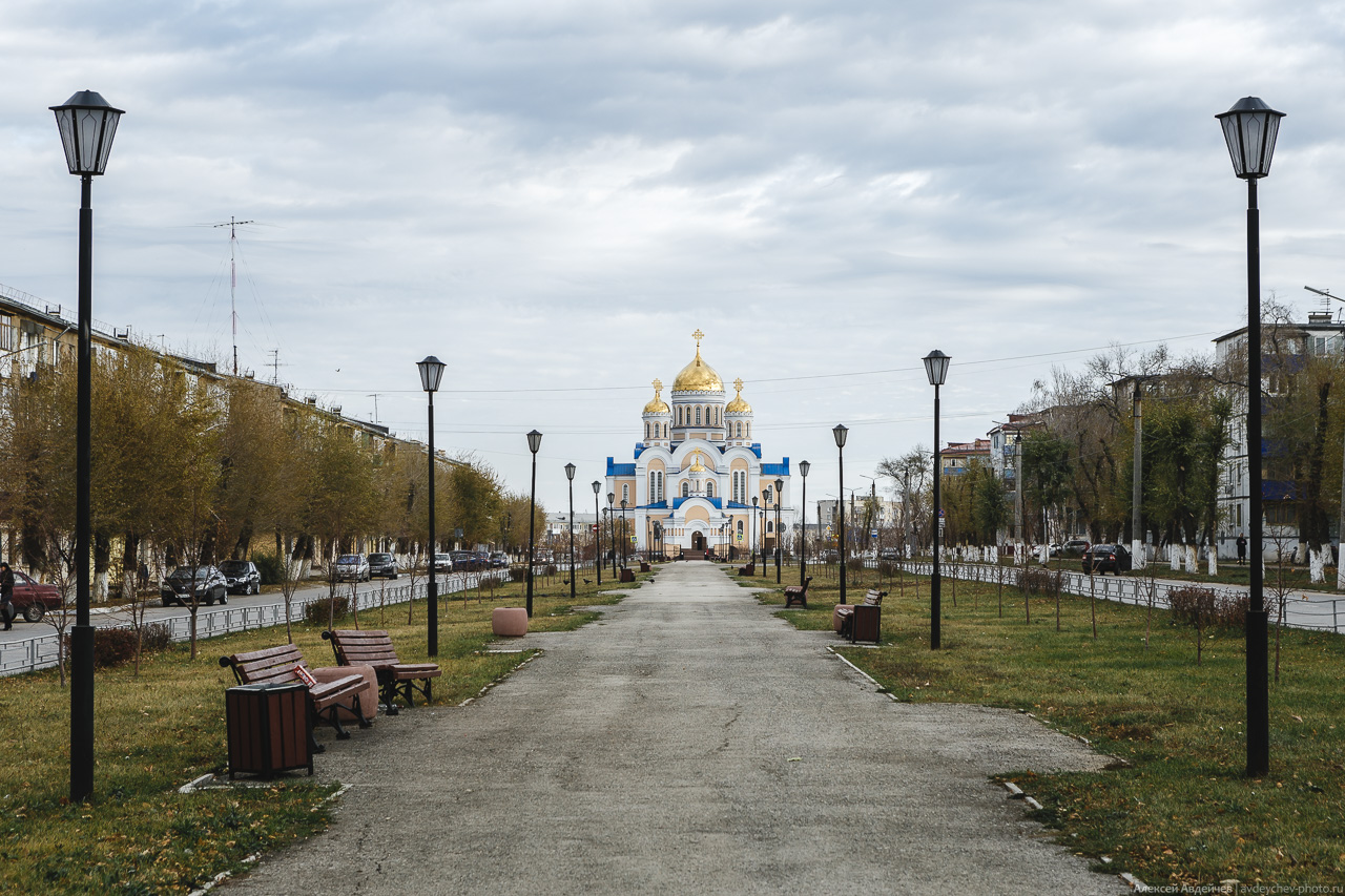 Новокуйбышевск, улица Гагарина