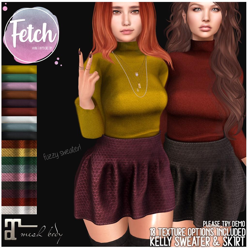 [Fetch] Kelly Sweater & Skirt @ c88!