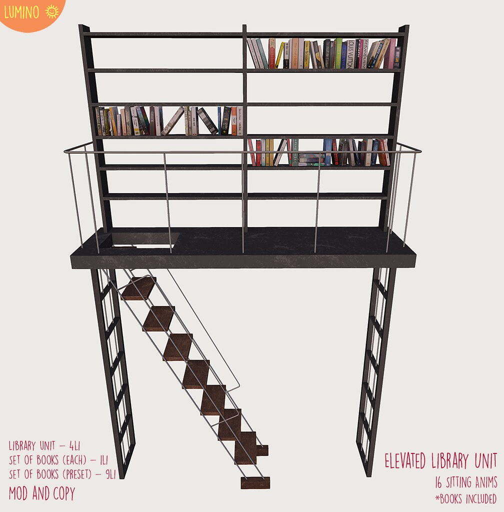 Elevated Library Unit