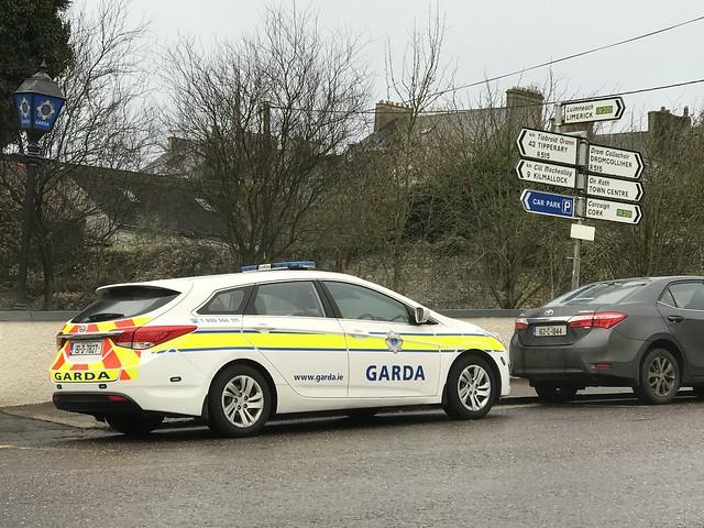 Irish Police Car - An Garda Síochána - Charleville, County Cork, Ireland - December 2018