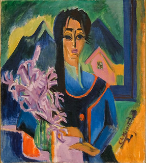 Ernst Ludwig Kirchner, Sunday in the Alps, 1922 9/9/17 #lacma #artmuseum #losangeles