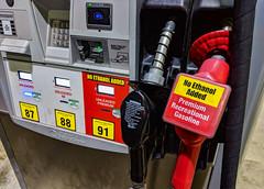No Ethanol Added - Premium Recreational Gasoline - 91 Octane Gas