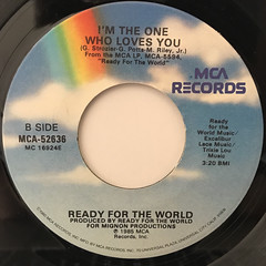 READY FOR THE WORLD:OH SHEILA(LABEL SIDE-B)