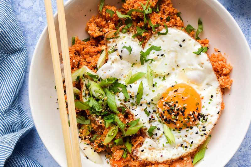 How To Make Kimchee Cauliflower Fried Rice