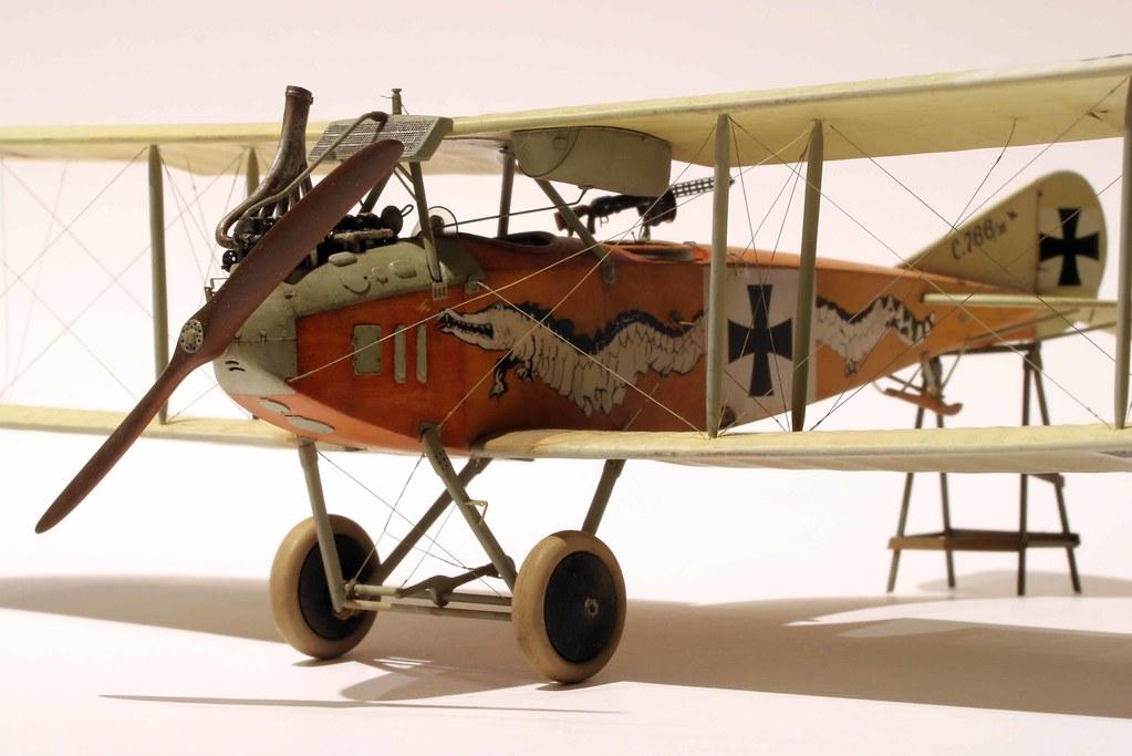 1/48 Albatros C. III   Crocodile et Dragon - Page 2 46687332352_d18b39fb68_b