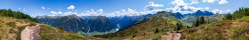 Silvretta-Montafon panorama