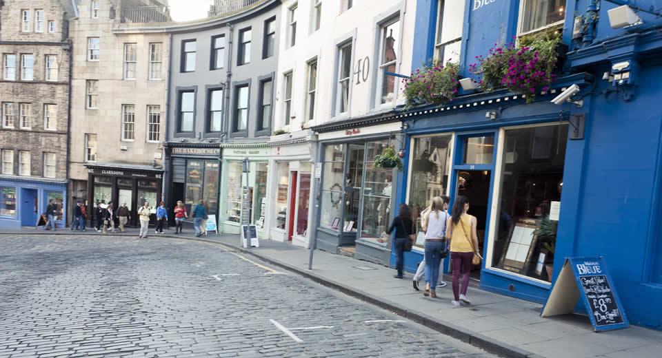 Bezienswaardigheden Edinburgh, New Town (foto: Simon Winall) | Mooistestedentrips.nl