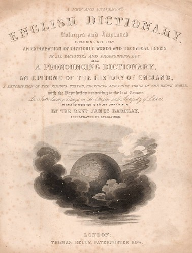 Cover of Barclay's Dictionary