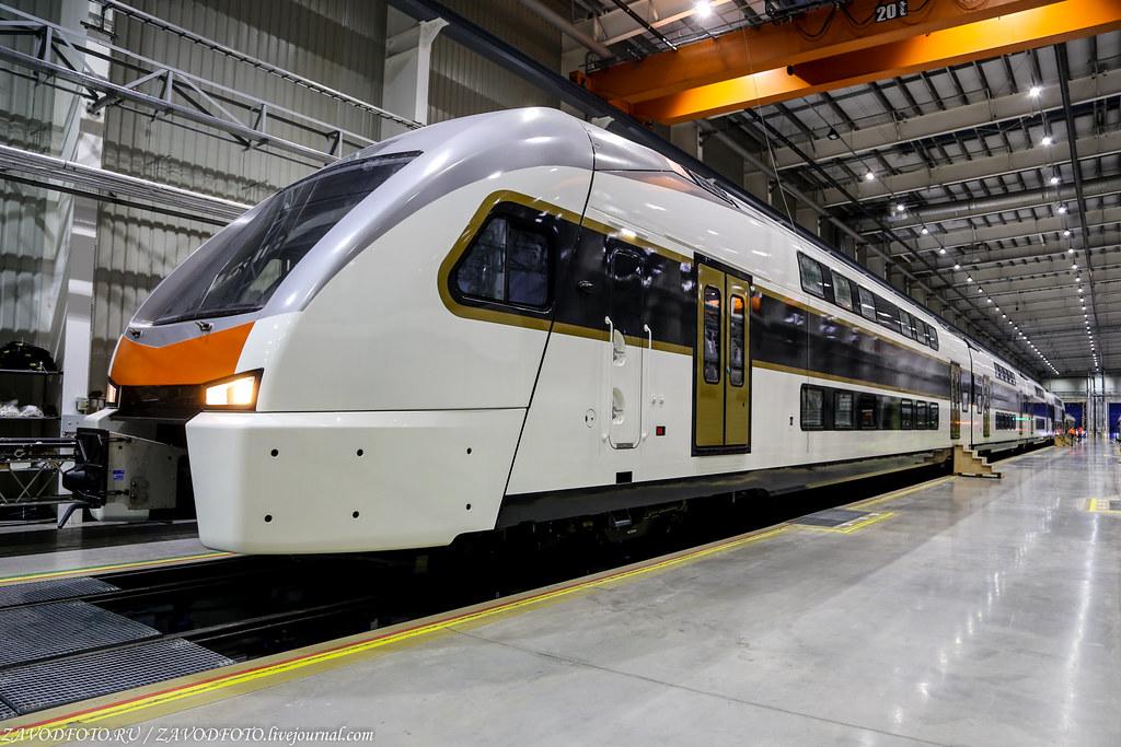 Как под Минском делают современные поезда и трамваи