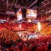 Vivint Smart Home Arena on Fire by Brady Withers