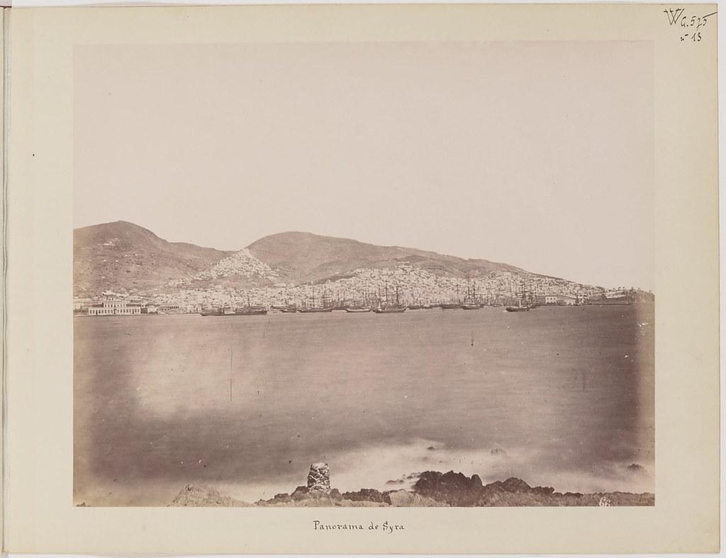 Альбом из 21 фото. из Афин и Пирея в 1880 году, подарок доктора Фювьера-20