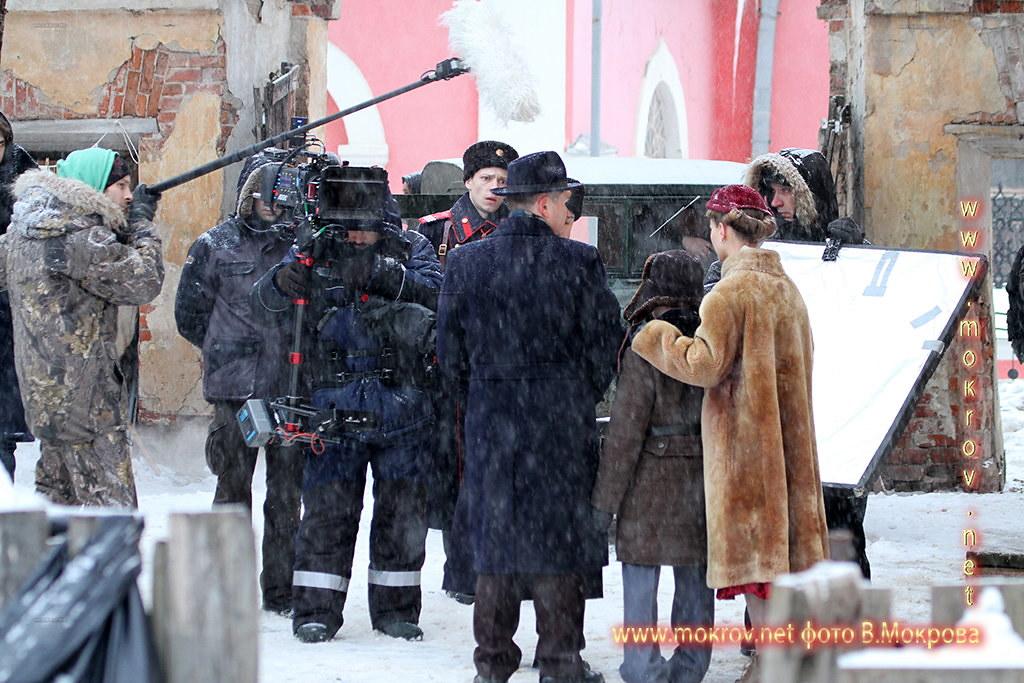 В Калуге проходили съемки телесериала «Декабристка».