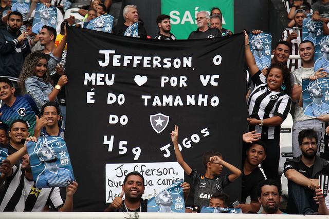 Botafogo 2 x 1 Paraná - Despedida de Jefferson