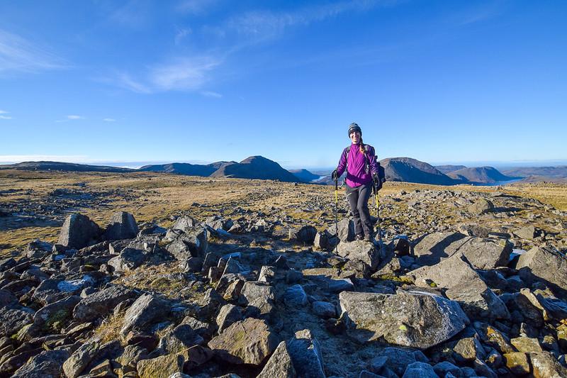 Borrowdale walks - Brandreth Fell, Lake District