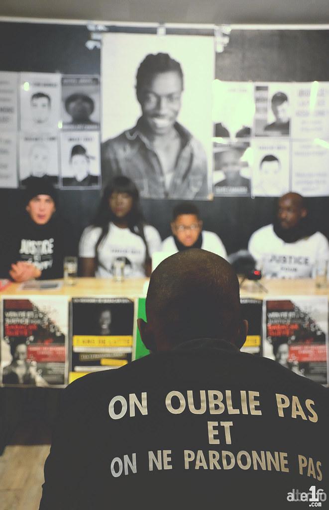 [01 Décembre 2018] – Conférence de presse : « Justice et Vérité pour Babacar, tué par la BAC de Rennes »