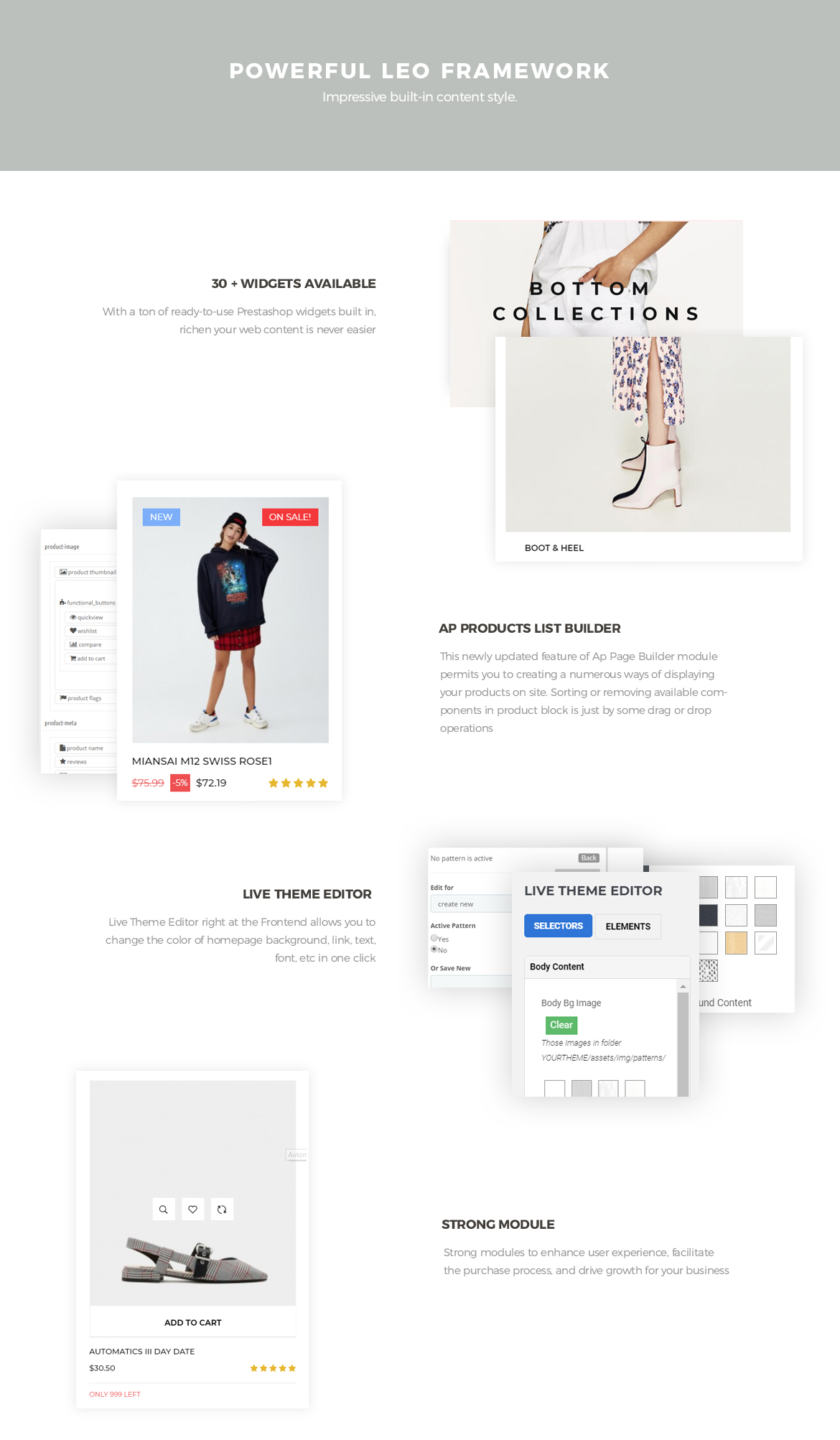 Excellent Prestashop Fashion theme 17