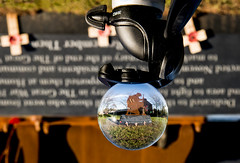 Lensball silent soldier in Hedon.