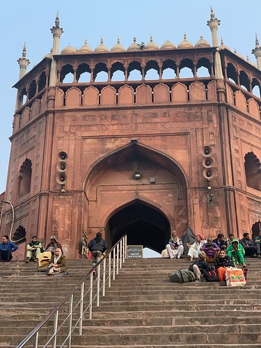 City Monument - Jama Masjid's Stairs, Old Delhi